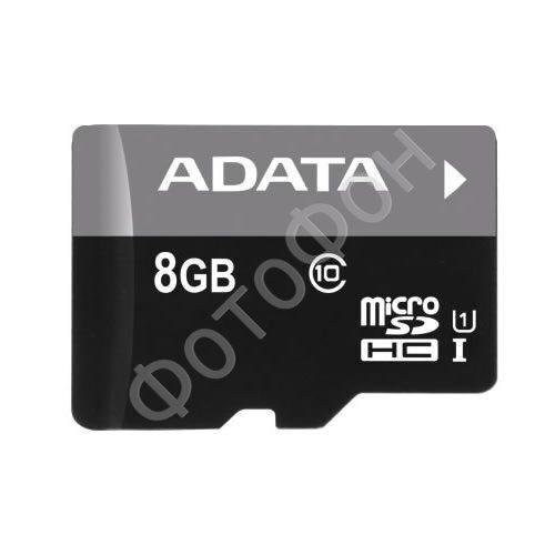 ADATA Premier microSDHC Class 10 8GB + SD adapter
