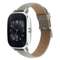 ASUS ZenWatch 2 (WI502Q) leather silver